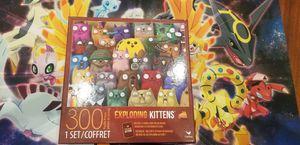 300 pcs Exploding Kittens puzzle, includes bonus game card for Sale in Avondale, AZ