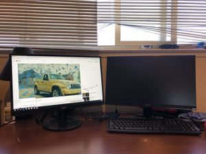Acer Dual monitor for Sale in Sunnyvale, CA