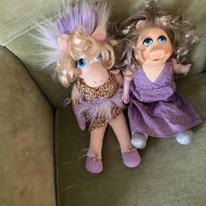 Vintage Miss Piggy Dolls for Sale in Suffolk, VA