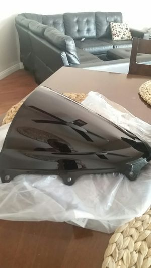 Motorcycle black windscreen for Sale in Spring Valley, CA