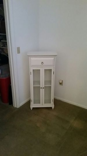 Small shelf cabinet with drawer for Sale in Bradenton, FL