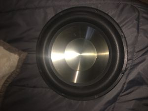 BIC America F12 sub with klipsch ksw-12 box home theater subwoofer for Sale in Tulare, CA