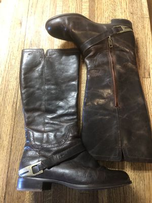 Ugg Channing II Walnut Brown Leather Riding Boot Women's Size 8 EU 39. for Sale, used for sale  Ramona, CA