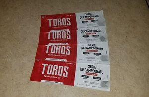 6 Tickets Toros de Tijuana vs Acereros Saturday Sep 22 for Sale in Chula Vista, CA