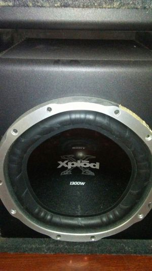 Sony xplod 1300w subwoofer for Sale in Patterson, CA