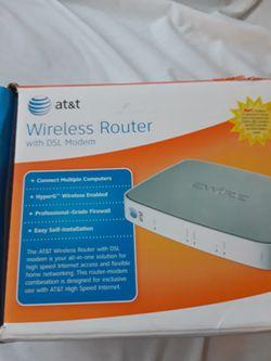 Wireless ROUTER / MODEM for Sale in Yorba Linda,  CA