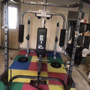 Squat Rack With Poling Machine for Sale in Centreville, VA