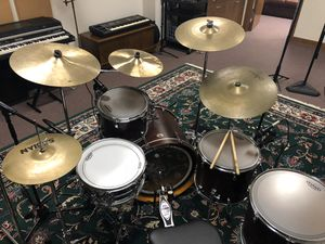 Tama Silverstar drums in matte ash finish for Sale in Greenville, NC