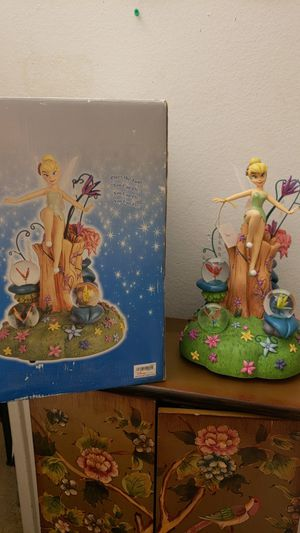 Disney Tinkerbell Among fireflies snowglobe for Sale in Artesia, CA