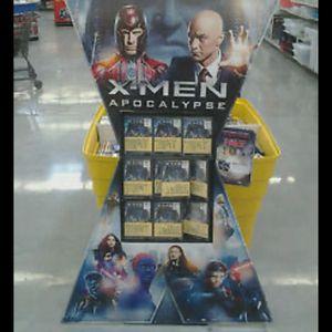 X-men Apocalypse Retail DVD Promo Display for Sale in Fresno, CA