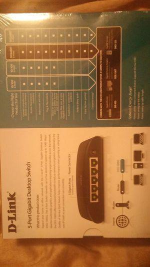 5 port gigabit desktop switch for Sale in Denver, CO