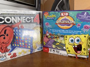 Board Games (Kids Cranium and Connect 4) for Sale in Artesia, CA