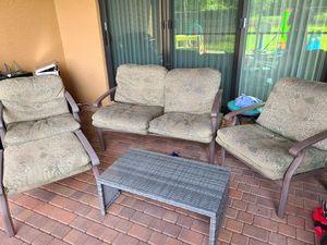 Outdoor furniture set for Sale in Boca Raton, FL