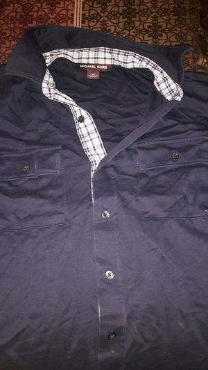 Medium men's Michael kors short sleeve button up for Sale in Phoenix, AZ