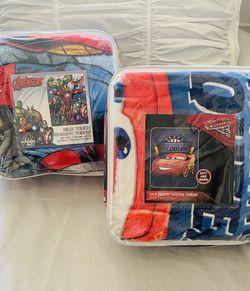 BUY(2) Disney/Marvel Sherpa/Borrego Blankets for Sale in Los Angeles,  CA