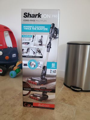 Shark ION F80 MultiFLEX Cordless Stick Vacuum Cleaner for Sale in Burbank, CA