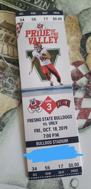 Fresno state tickets for Sale in Fresno, CA