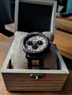 Luxury Wood Watch & Stainless Steel for Sale in Dallas, TX
