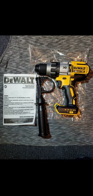 """DEWALT 20V MAX LITHIUM ION XR BRUSHLESS 3-SPEED 1/2"""" HAMMER DRILL/DRIVER for Sale in Los Angeles, CA"""