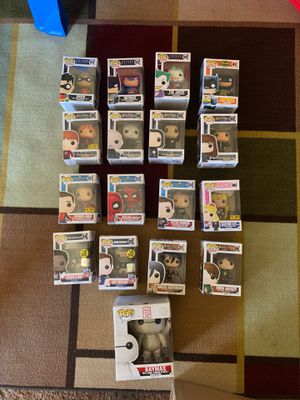 POP FIGURINE - TAKE ALL FOR $50 ****READ DETAILS*** for Sale in Lincoln Acres, CA