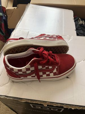 Size 13 youth vans good condition for Sale in Raleigh, NC