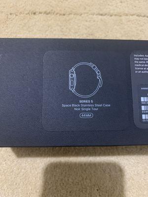 Apple Watch Series 5 44mm Hermes Space Black Stainless Steel for Sale in Springfield, VA