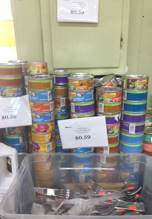 Friskies cat cans for Sale in Rosemead, CA