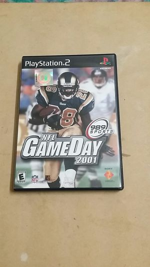 NFL Game Day 2001, PS2 for Sale in El Cajon, CA