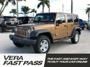 2015 Jeep Wrangler Unlimited for Sale in Pembroke Pines, FL