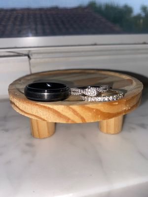 Wedding bands and engagement ring for Sale in Tamarac, FL
