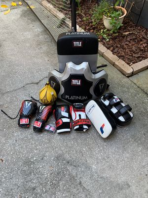 Boxing Equipment for Sale in Tampa, FL