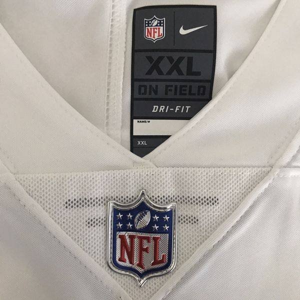 Nike men's authentic NFL Los Angeles Chargers Joey Bosa color rush sewn away jersey US Size 2XL