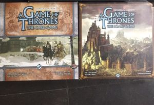 HBO Game of thrones lot: board game V 2, card game, 4d puzzle all complete for Sale in Lynnwood, WA