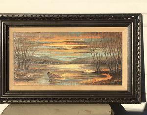 Beautiful Oil Lake Scene for Sale in Chino Hills, CA