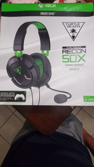 Turtle beach recon 50x for Sale in South Gate, CA