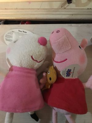 Peppa Pig Plush Dolls for Sale in Orangevale, CA