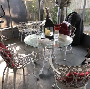Coast iron Patio furniture for Sale in Clearwater, FL