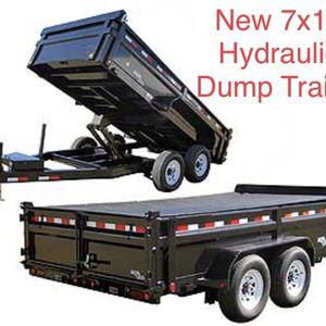 🗣***New hydraulic Trailer*** 💥💥🔥 for Sale in Orlando, FL