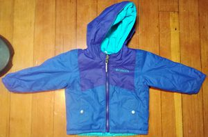 EUC Kid's 3T Columbia Reversible Snow Jacket for Sale in Colorado Springs, CO