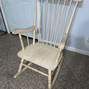Rocking Chair Real Wood for Sale in Montclair, CA