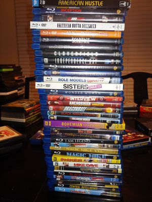 Blu-ray Lot (34 movies) for Sale in Baton Rouge, LA