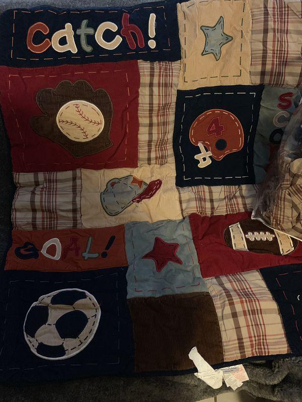 Baby Boy Bed Set