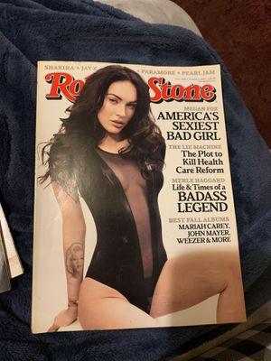 Rolling Stone Megan Fox cover for Sale in Avis, PA