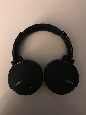 Sony Bluetooth Wireless Over Ear Headphones for Sale in Seattle, WA