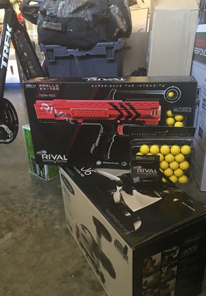 Rival nerf gun with extra ammo. Never opened. for Sale in Brambleton, VA