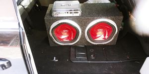 """12"""" subwoofers with amp for Sale in Baltimore, MD"""