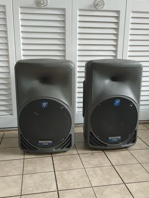 2 MACKIE SRM350 POWERED SPEAKERS for Sale in Tampa, FL