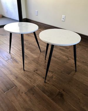 Marble Bed Side Tables for Sale in Los Angeles, CA
