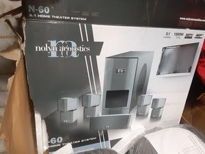 Nolyn acoustics N60 5.1 home theater brand new in box just missing amp for Sale in Lincoln Acres, CA