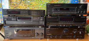 Kenwood Amp, Amp/Receiver, Tuner, CD, Cassette, Sony Receiver for Sale in Lake Tapps, WA